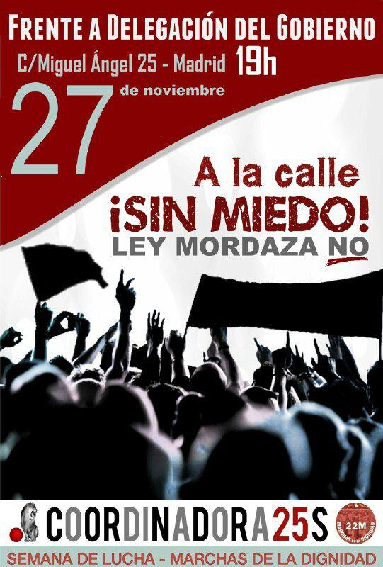 cartel 27N 1