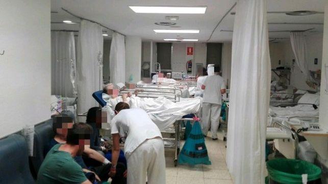 Sala de urgencias en la pública